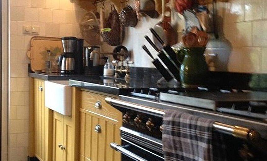 Landelijk Geel Keuken : Oker gele keuken in landelijke stijl artoi